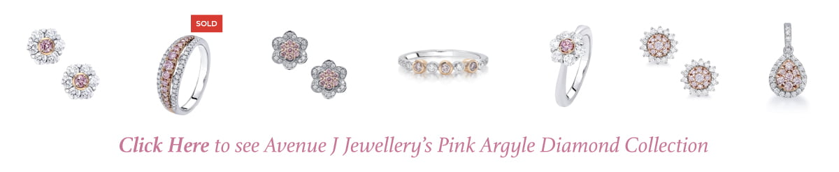 avenue j jewellery pink argyle Diamond seleciton